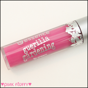 Essence Guerilla Gardening LE Lip Cream 01 Mission Flower 01