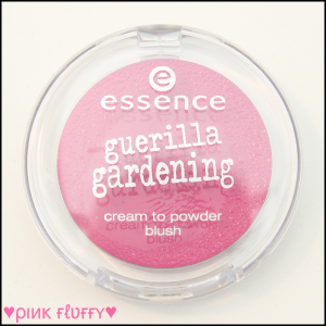 Essence Guerilla Gardening LE Matt Cream Blush 01 Mission Flower 01