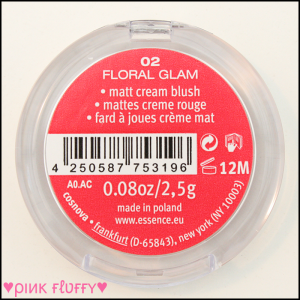 Essence Guerilla Gardening LE Matt Cream Blush 02 Floral Glam 03