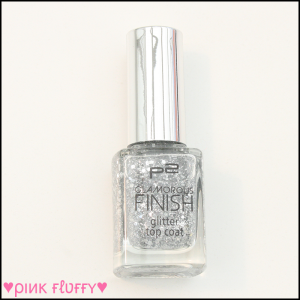 P2 Glamorous Finish Glitter Top Coat 30 Lets Dance 01