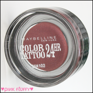 Maybelline Color Tattoo 70 Metallic Pomegranate 02